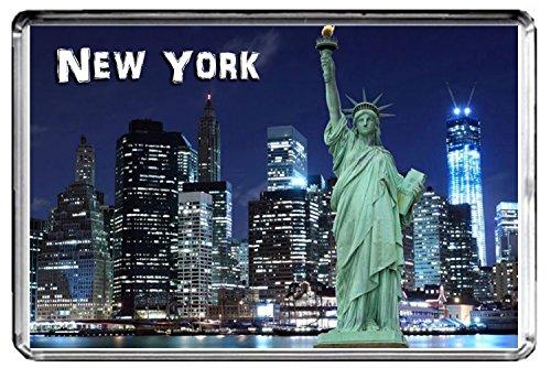 CFL E009 NEW YORK FRIDGE MAGNET USA TRAVEL PHOTO MAGNETICA CALAMITA FRIGO