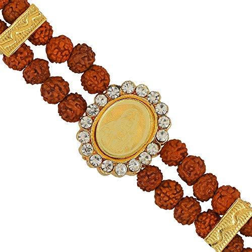 SataanReaper Presents Rudraksh Sai Baba Bracelet #SR-1598