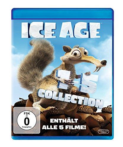 Ice Age 1-5 [Blu-ray]
