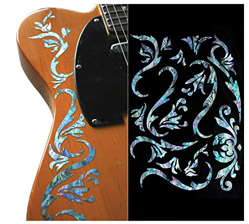 Inlay Sticker Decals for Guitar Bass - Bob Weir's Cowboy Fancy -Mix