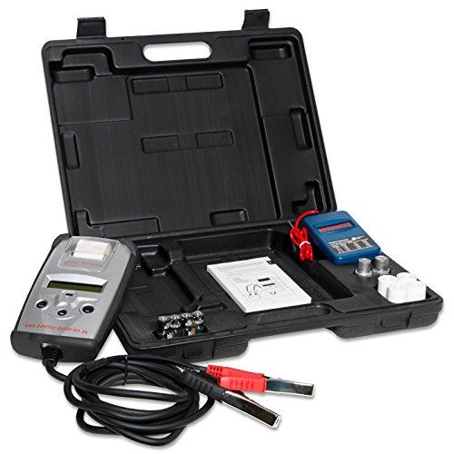 Panther Batterietester BT501 6V & 12V Digital mit Drucker für Blei Gel AGM