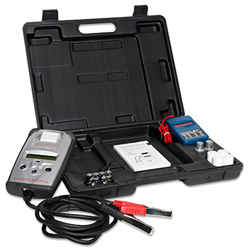 Panther Batterietester BT501 6V & 12V Digital mit Drucker für Blei Gel AGM