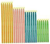 Reutilizable del sellador Sticks en Varios tamaños, Clips de Alimentos sellador de Bolsas, Accesorios de Cocina de Almacenamiento (24) para Mantener el hermético Bolsa y la Comida Fresca