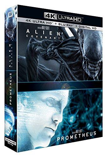 Alien : Covenant + Prometheus [4K Ultra HD + Blu-ray + Digital HD]