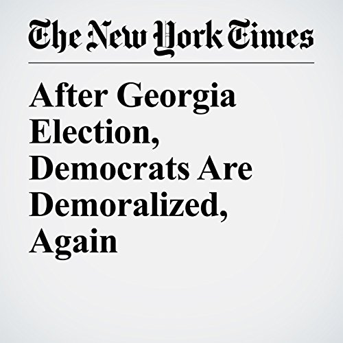 After Georgia Election, Democrats Are Demoralized, Again copertina