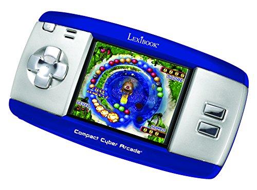 Lexibook JL2374BL - Compact Cyber Arcade, blau