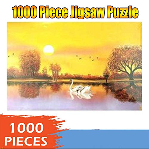 Find Discount Jigsaw Puzzles Toys Game Large Size - 1000 Pieces Funny Wooden - Impossible Difficult ...
