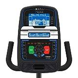 Nautilus Bluetooth für Smartphone und Tablet Liegerad Recumbent R626 Liege-ergometer, 29 Trainingsprogramme, Soundsystem und Ventilator