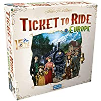 Ticket to Ride Europe 15th Anniversary Deluxe Edition Board Game