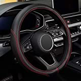 LABBYWAY Microfiber Leather Auto Car Steering...
