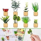 8 Pieces Mini Artificial Succulent Plants...