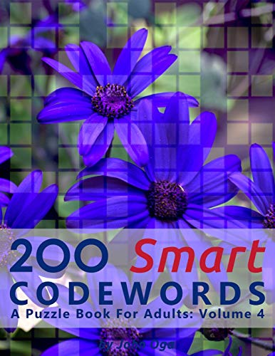 200 Smart Codewords: A Puzzle Book For Adults: Volume