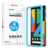 OMOTON [4 Pack] Screen Protector for Google Pixel 4, Tempered...
