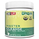 LonoLife Master Cleanse Powder, Lemonade Detox Diet with Lemon, Maple Syrup and Cayenne, 8oz Bulk Container