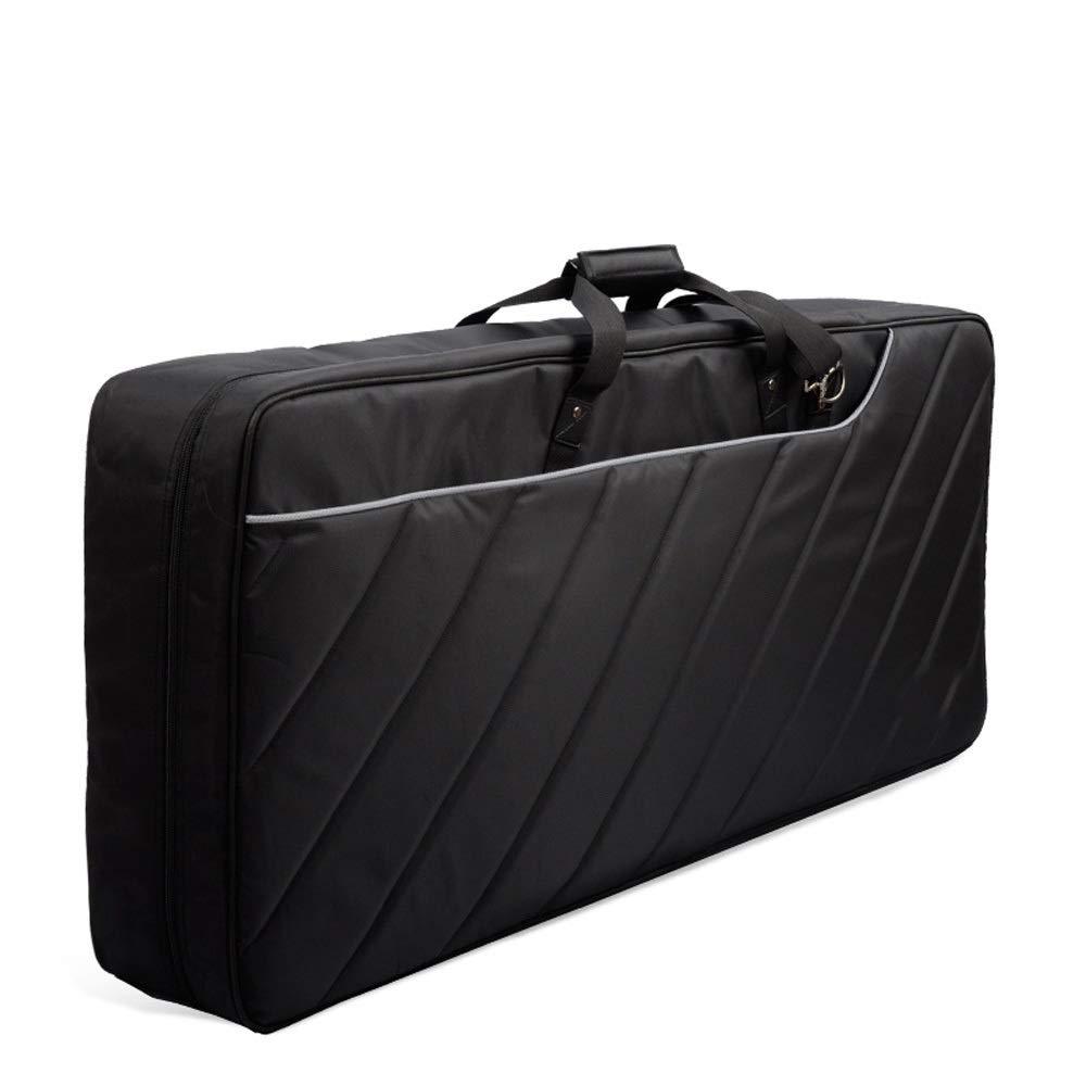 Rawall Estuche Acolchado para Piano eléctrico 61 Teclas del Teclado Bolsa Acolchada Caso Correas Ajustables portátil extraíble Mochila Bolsa de Concierto Grueso del Caso de Piano: Amazon.es: Hogar