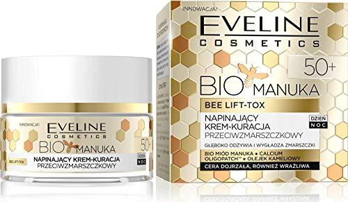 Eveline Cosmetics Bio Manuka Lift Crème Visage Fermeté Jour/Nuit 50+ 50 ml