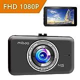 Dashcam Auto Dash camera auto dash cam kfz-kamera autokamera Mibao Full HD 1080P mit 170°...