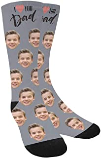 father's day socks with pictures