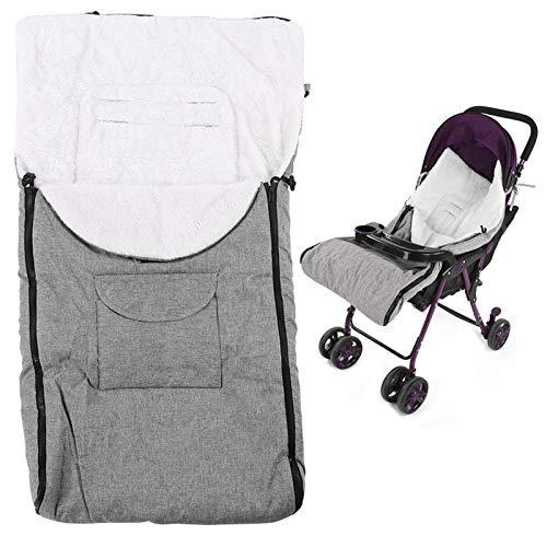 Saco de dormir para cochecito de bebé Bolsa de empavesado Invierno A prueba de viento Universal Espesar Mantener caliente Clima frío Accesorio para cochecito de bebé(#2)
