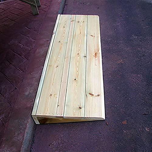 Lqdp Rampas Pasamanos Pasamanos de Entrada para sillas de Ruedas para el hogar - 2.8 Pulgadas de Altura, rampas de umbral Antideslizantes portátiles para Puertas de 2/3/4/5 Pulgadas