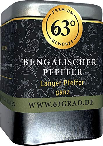 63 Grad - Bengalischer Pfeffer - Langer Pfeffer - Langpfeffer (60g)