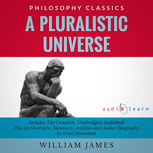 A Pluralistic Universe by William James audiobook cover art