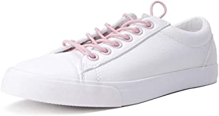 Fashion Flat Bottomed Sneakers Ladies Sweet and Elegant Casual Shoes Breathable Skateboard Shoes College Wind