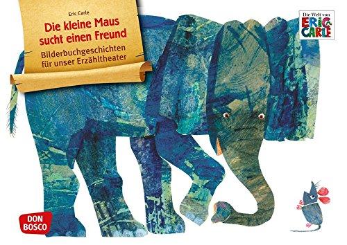 Die kleine Maus sucht einen Freund. Kamishibai Bildkartenset.: Entdecken - Erzählen - Begreifen: Bilderbuchgeschichten. (Bilderbuchgeschichten für unser Erzähltheater)