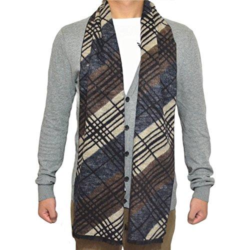"""TONY&CANDICE(TM) Men's Silk Cotton Long Wrap Scarf, 69""""L11.5""""W (Color 3)"""