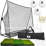 Best Golf Practice Nets - Morvat Golf Net Set, Golf Practice Mat, Golf Review