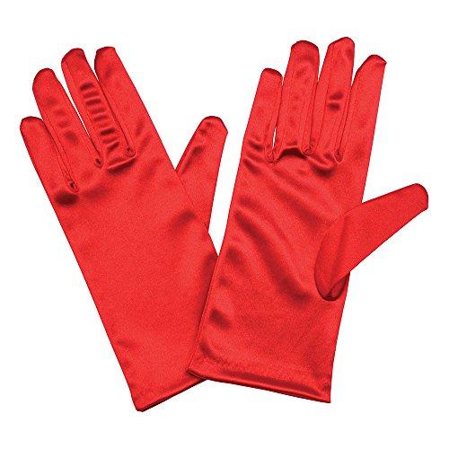 guanti rossi Bristol novità BA336guanti in raso 22