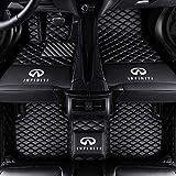 Fit for Infiniti Q50 Q60 Q70 QX30 QX50 QX60 QX70 QX56 QX80 2004-2021 All Weather Car-Styling Custom Luxury Leather Waterproof Heavy Duty Floor Mats Liner Logo