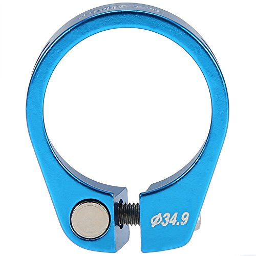 Abrazadera de Sillín de Bicicleta para 30.4 / 30.8 / 31.6mm ( Color : Azul )