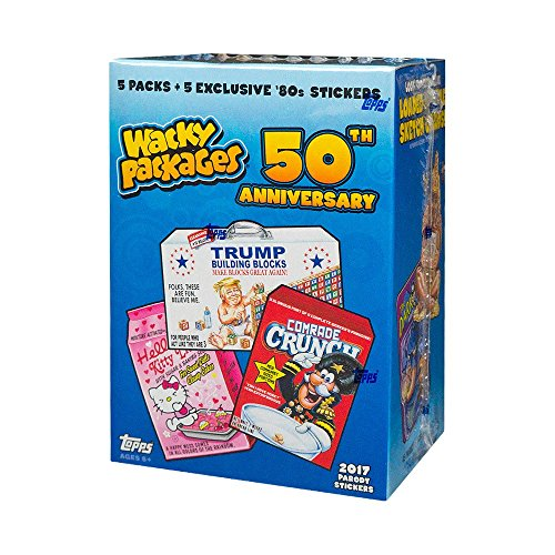 2017 Wacky Packages 50th Anniversary Blaster Box