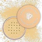 Bellapierre Banana Setting Powder | Lightweight Color-Correcting Powder with All Day Makeup Protection | Eliminates Blotchiness and Dark Under-Eye Circles | Talc-Free | Matte Tint - Original - 0.14 Oz