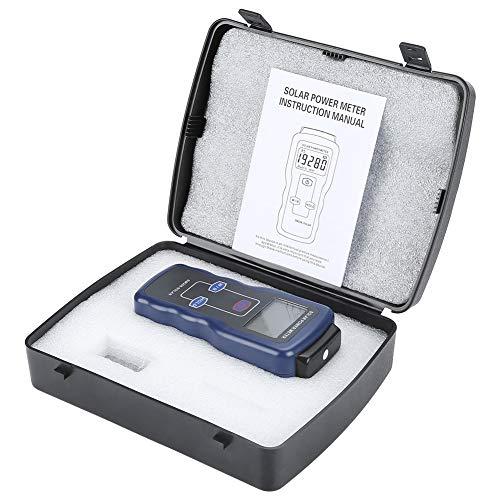 Handheld Digital Solar Power Meter, SM206 Digital Solar Power Meter Sonnenlicht Strahlungsmessung Prüfgerät, Industrie-Leistungsmesser