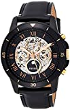 Fossil Men's Grant Sport ME3138 Black Leather Automatic Fashion Watch