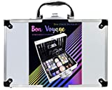 The Color Workshop TCW Makeup Travel Case, 43-Piece, Bon Voyage