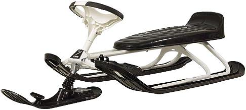 STIGA Snowracer Racing Rodel King Size GT stuurslee voor volwassenen, zwart/wit