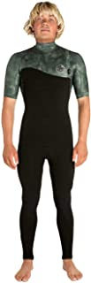 Rip Curl Mens E-Bomb 2mm Zip Free Short Sleeve Wetsuit Camo WSM8TS