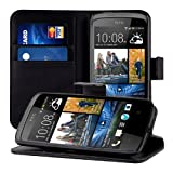 kwmobile Wallet Case kompatibel mit HTC Desire 500 - Hülle