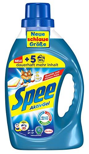 Spee AktivGel, 4er Pack (4 x 20 Waschladungen)