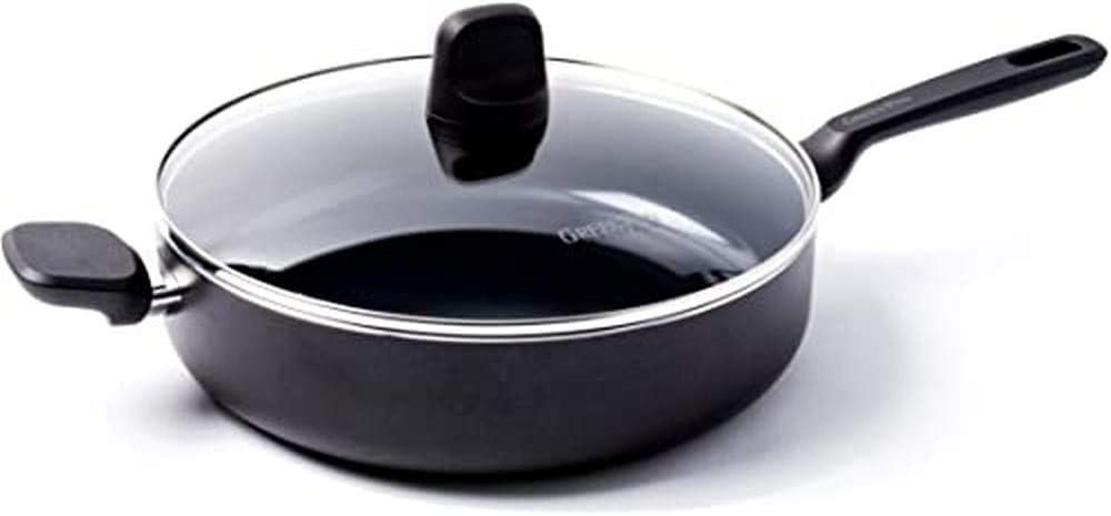 [Alternative dealer] GreenPan Memphis Pan Set 4.2 liters New popularity Black