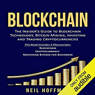Blockchain: Bitcoin, Ethereum, Cryptocurrency audiobook cover art