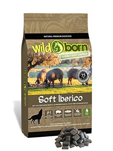 Wildborn Soft IBERICO 1,5kg getreidefreies Hundefutter mit 75% frischem Iberico Schwein