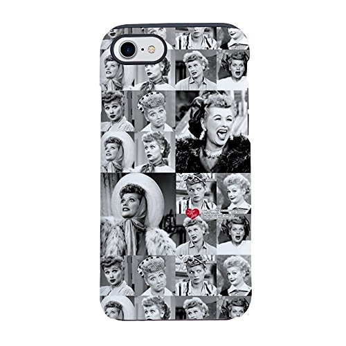 CafePress I Love Lucy Face Collage iPhone 7 Tough Case iPhone 8 / iPhone 7 Phone Case, Tough Phone Shell