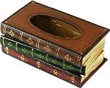 Tick Nick えっ 本じゃなかったの レトロ アンティーク 本 みたいな ティッシュボックス ティッシュケース 木製