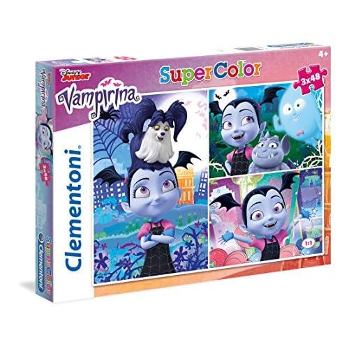 Clementoni-25229 Supercolor Puzzle-Vampirina, Multicolore, 25229