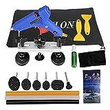 weylon Auto equipo de reparación de abolladuras Kit herramientas pegamento...