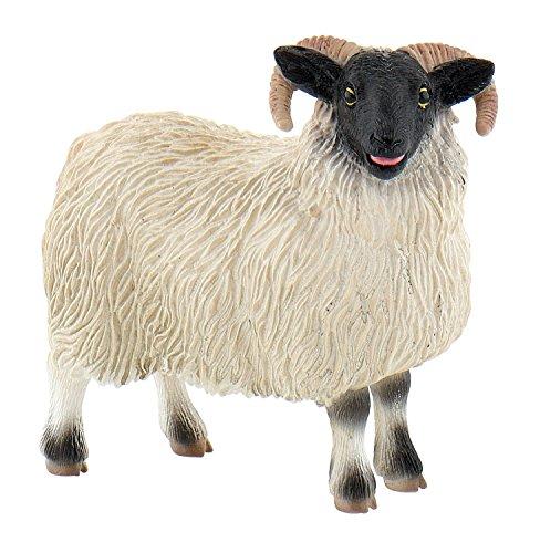 Bullyland 62718 - Spielfigur, Scottish Blackface Schaf, ca. 8 cm